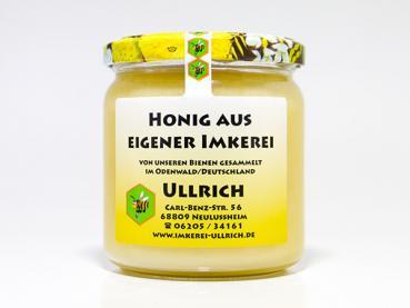 Lindenblütenhonig (cremig) der Imkerei Ullrich