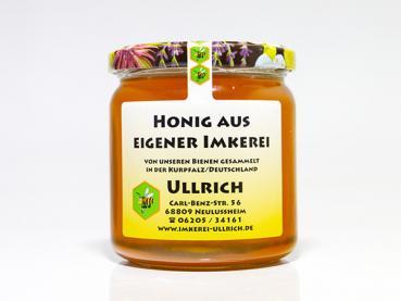 Wiesenblütenhonig der Imkerei Ullrich